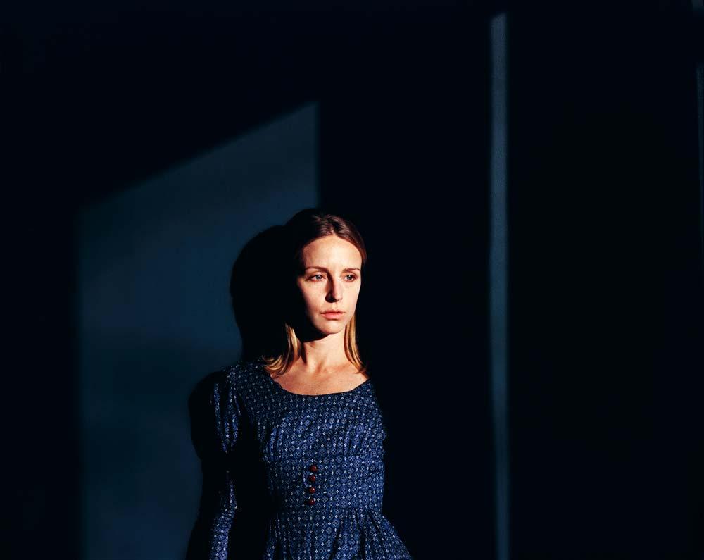 Untitled (Blue Dress, Blue Wall), San Francisco, CA, December, 2011