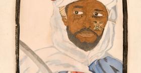 Sheik Ali Ibn Tulun. Founder of the Colubrid Dynasty, 1797.
