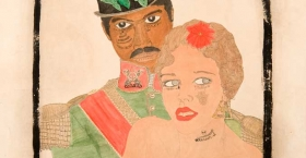 Philip, Crown Ruler of the Khedivate of Columbra (Zanzibar and Tanzania) and Unkown Bedouin Woman of Low Birth
