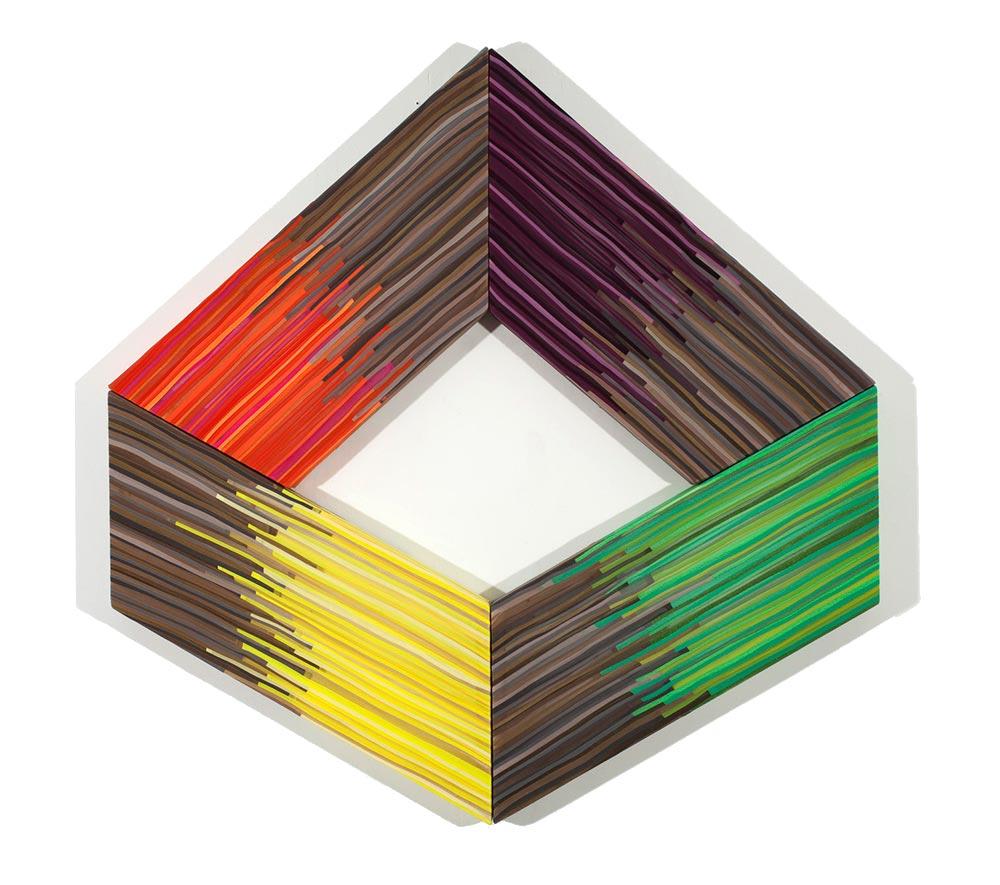 Jen Pack - Unquiet Chroma - I Am A Cube