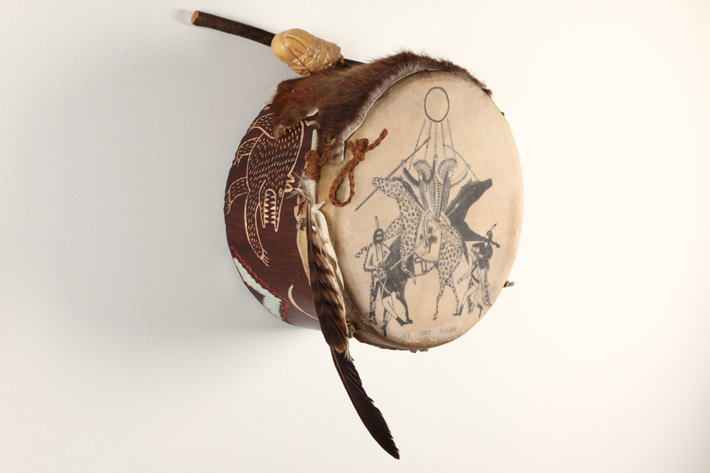 Field drum of the Company Cazador 1794.