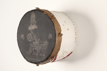 War drum of Chief Spotted Wolf's regiment.  1794.